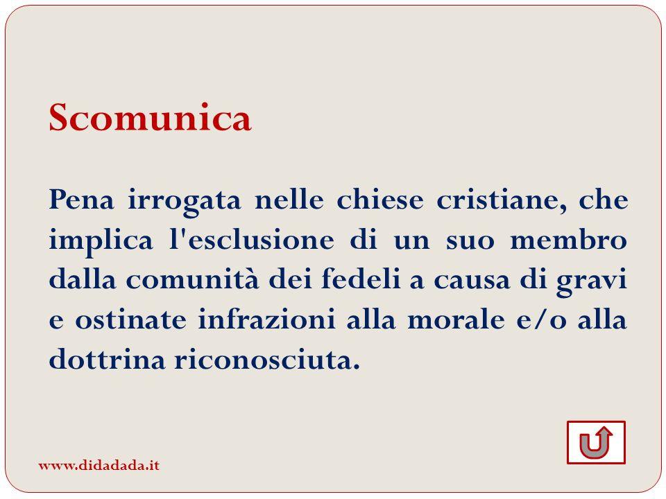 Scomunica