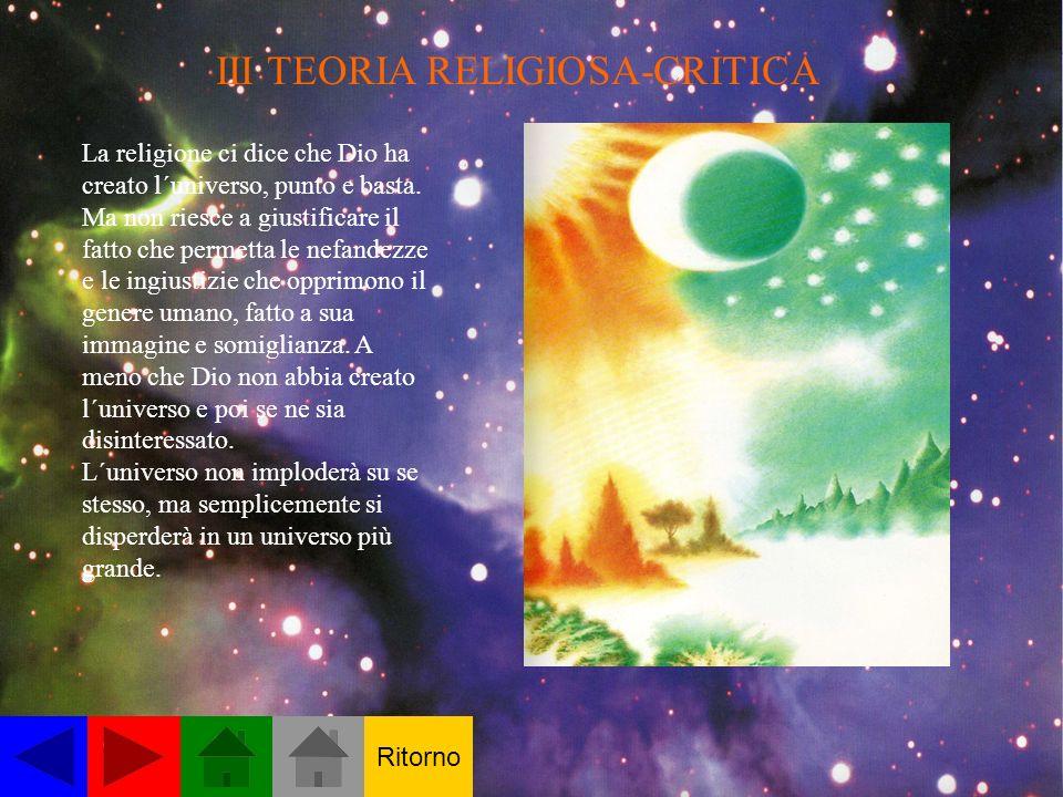 III TEORIA RELIGIOSA-CRITICA