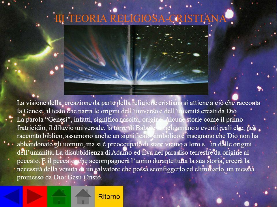 III TEORIA RELIGIOSA-CRISTIANA
