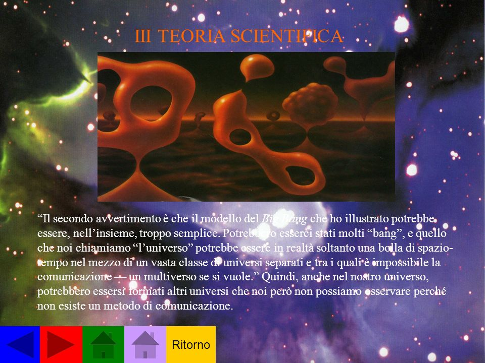 III TEORIA SCIENTIFICA