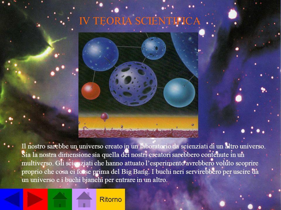 IV TEORIA SCIENTIFICA