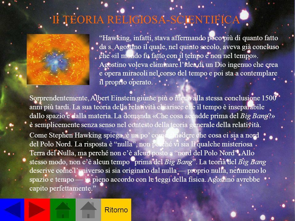 II TEORIA RELIGIOSA-SCIENTIFICA
