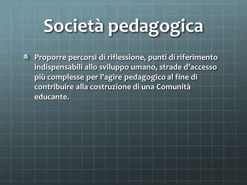 Società pedagogica