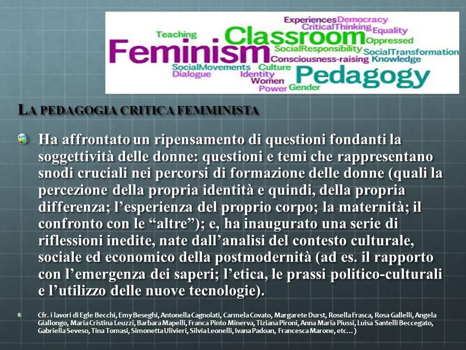 La pedagogia critica femminista