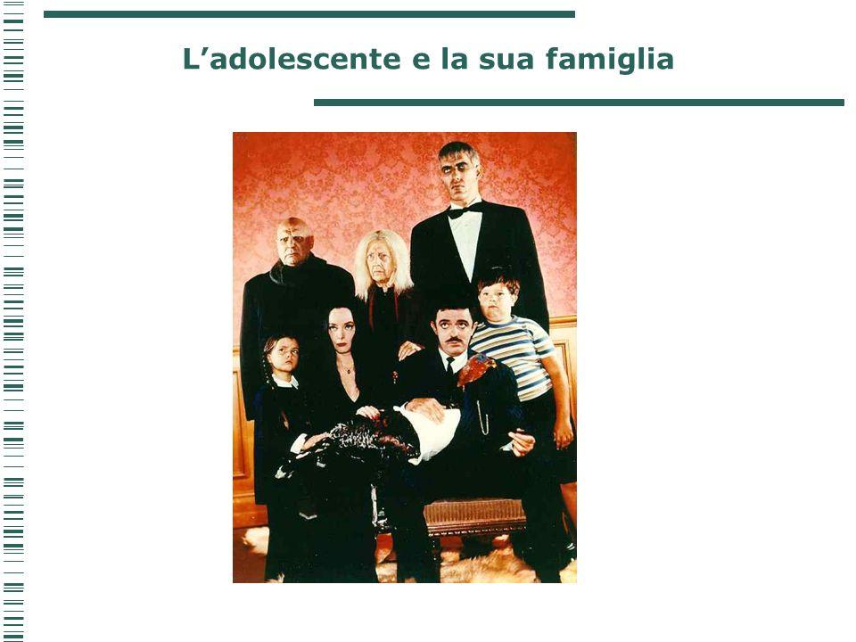 L'adolescente e la sua famiglia