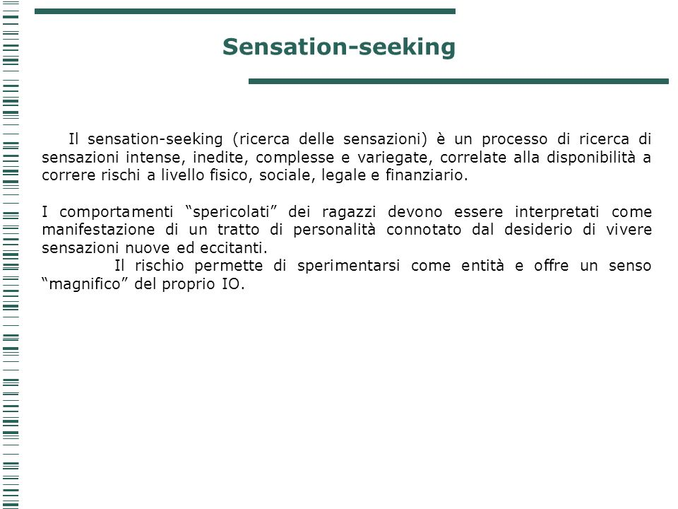 Sensation-seeking