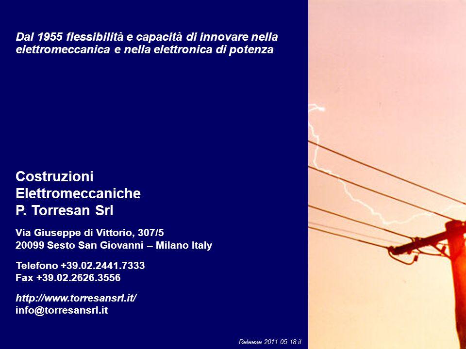 Costruzioni Elettromeccaniche P. Torresan Srl