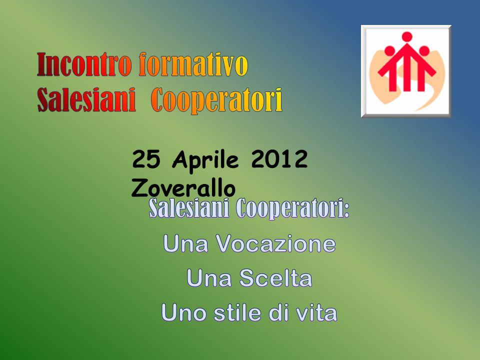 Incontro formativo Salesiani Cooperatori