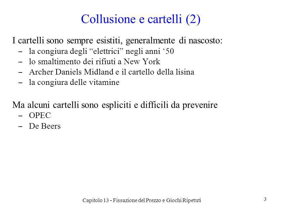 Collusione e cartelli (2)