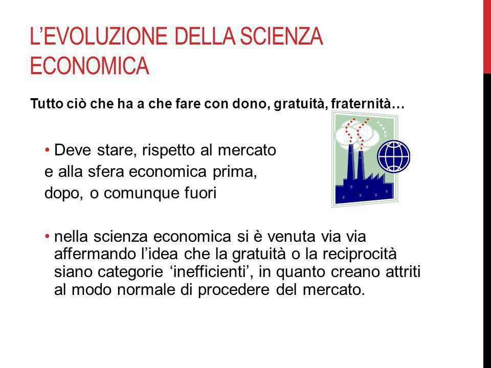 L'evoluzione della scienza economica