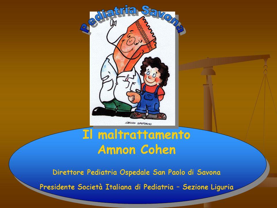 Pediatria Savona Il maltrattamento Amnon Cohen