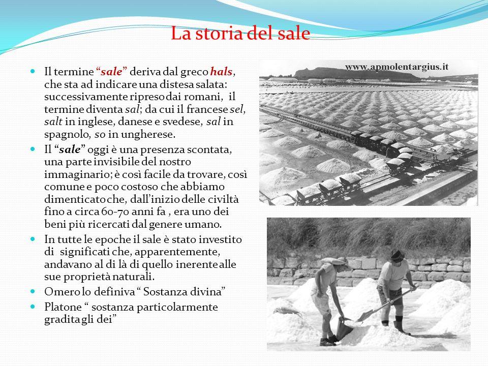 La storia del sale