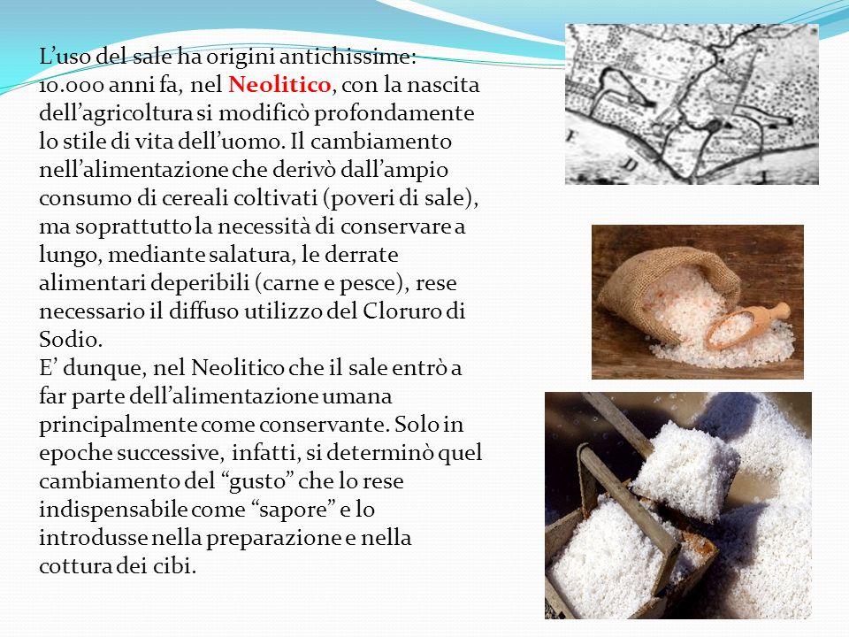 L'uso del sale ha origini antichissime: 10