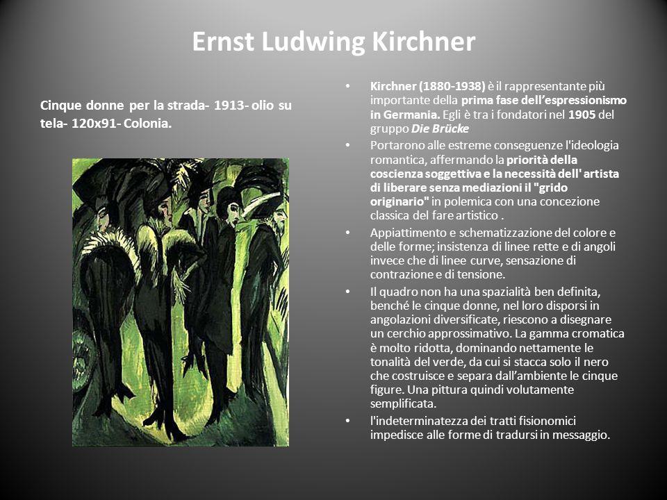 Ernst Ludwing Kirchner