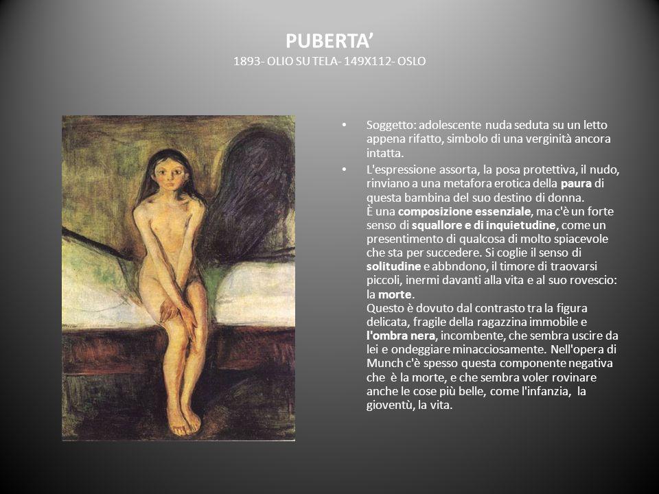 PUBERTA' 1893- OLIO SU TELA- 149X112- OSLO