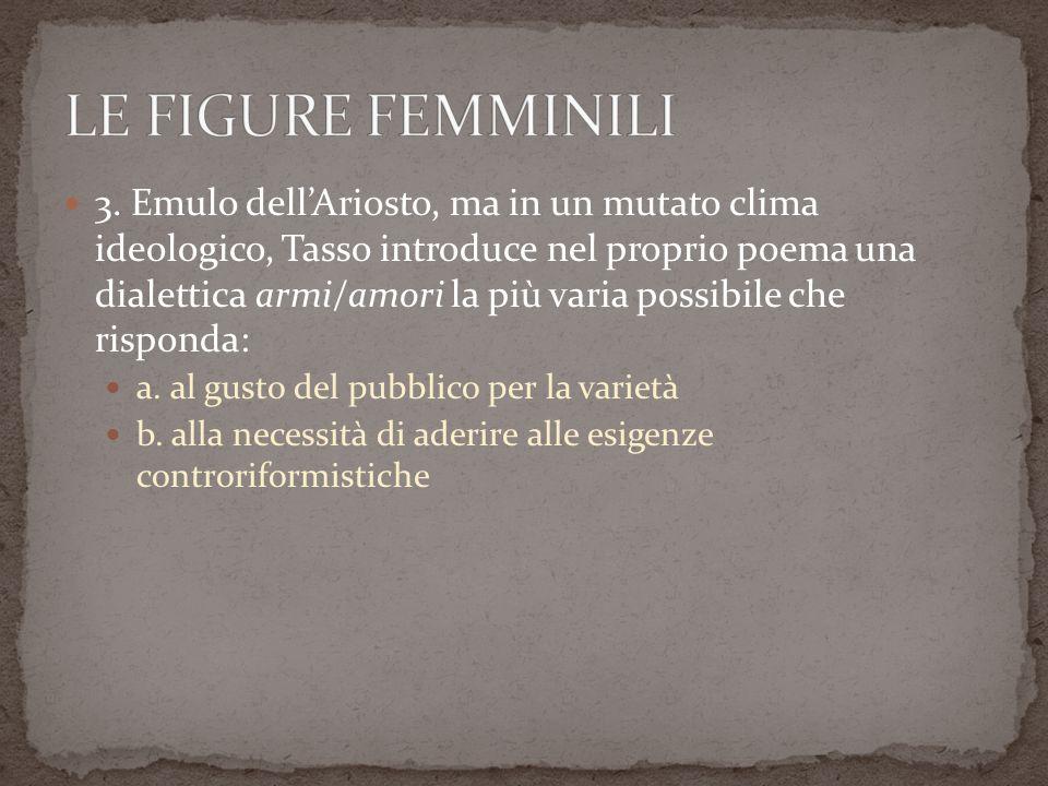 LE FIGURE FEMMINILI