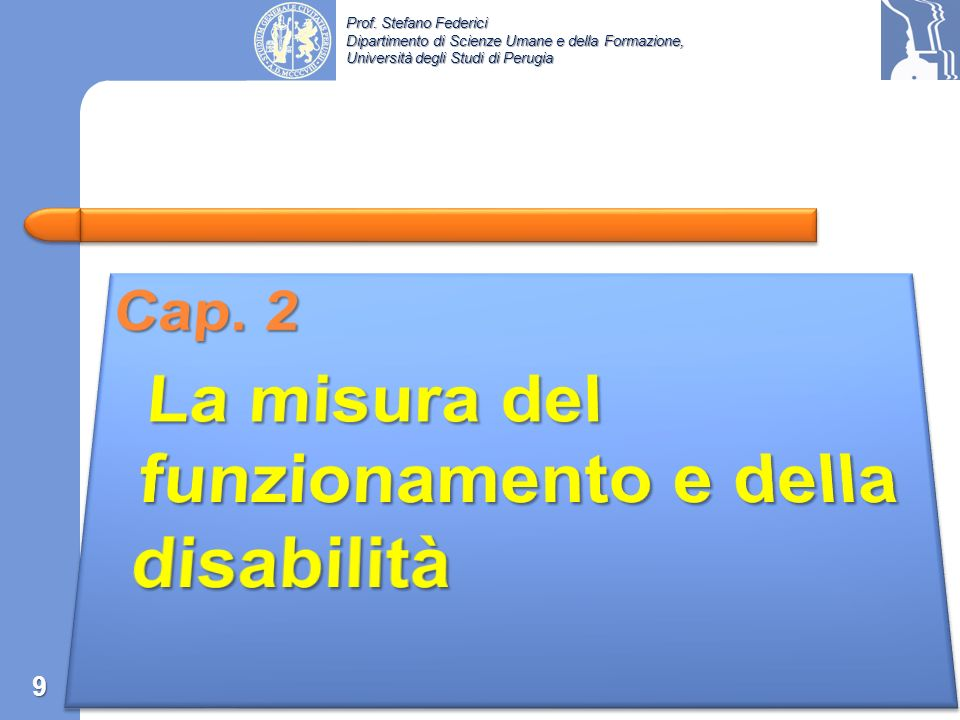La misura del funzionamento e della disabilità
