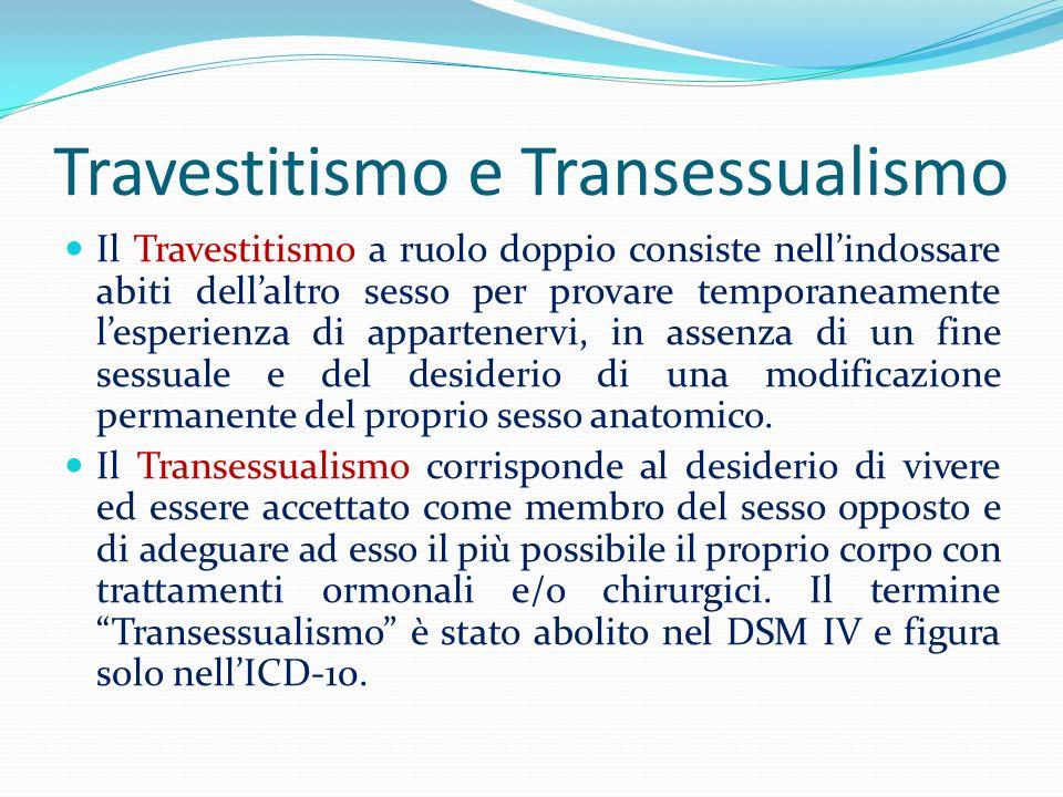 Travestitismo e Transessualismo