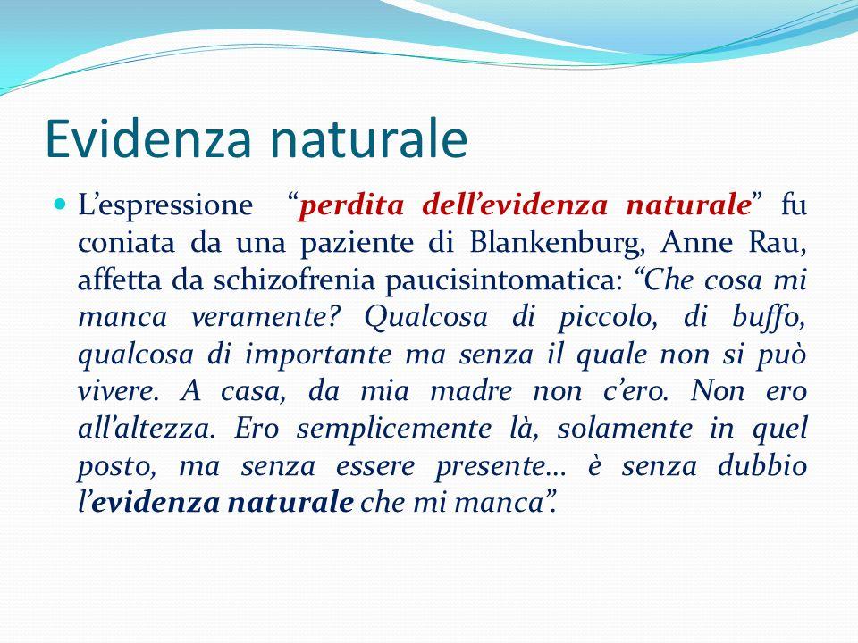 Evidenza naturale