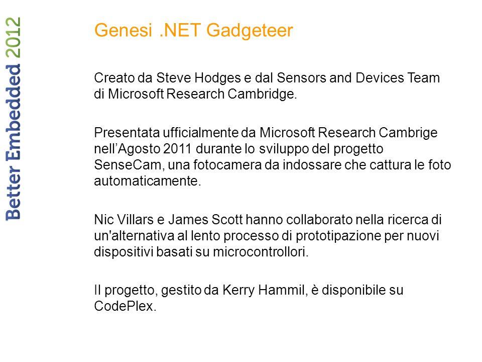 Genesi .NET Gadgeteer