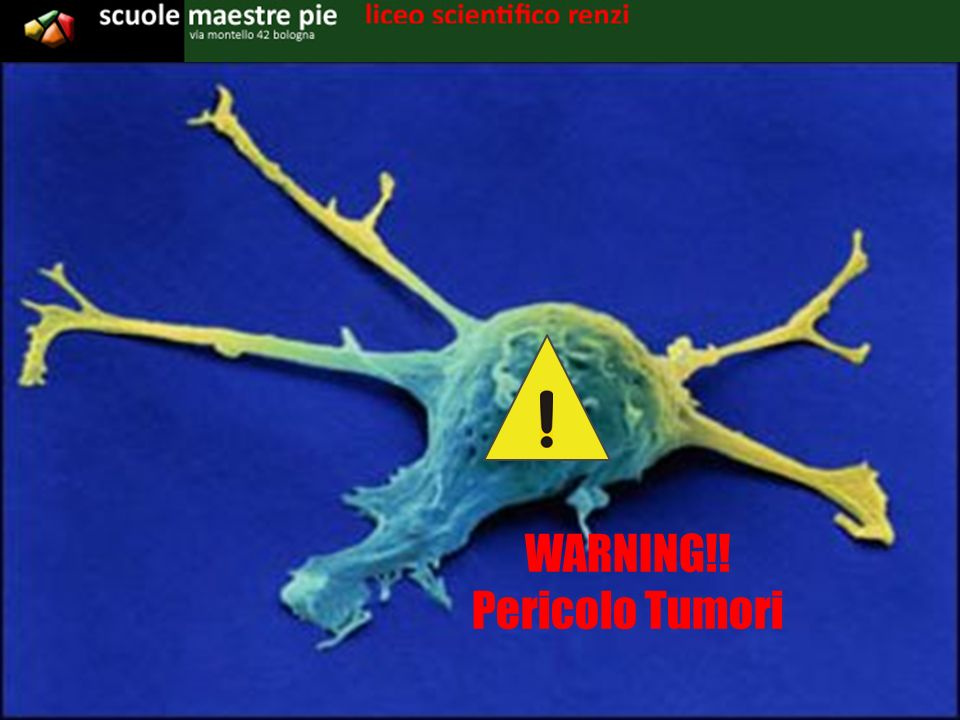 WARNING!! Pericolo Tumori
