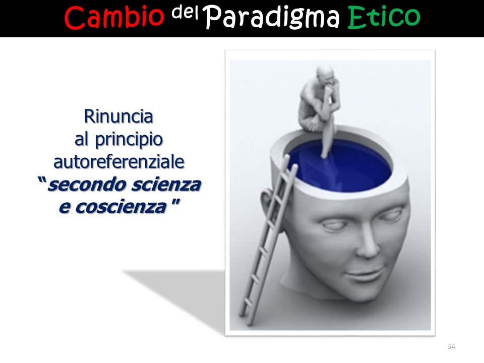 Cambio del Paradigma Etico secondo scienza e coscienza