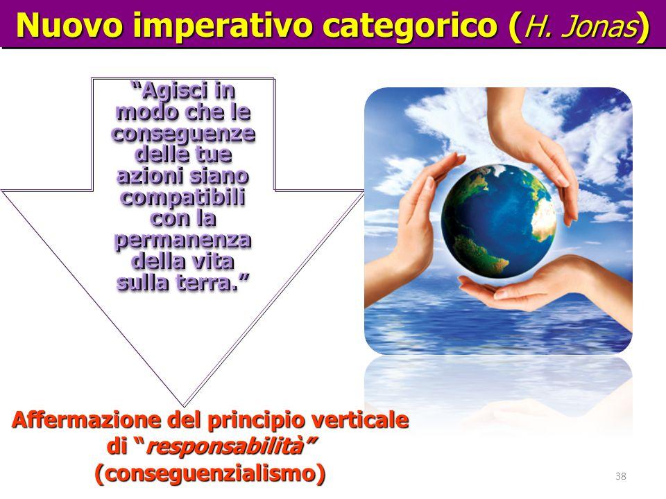 Nuovo imperativo categorico (H. Jonas)