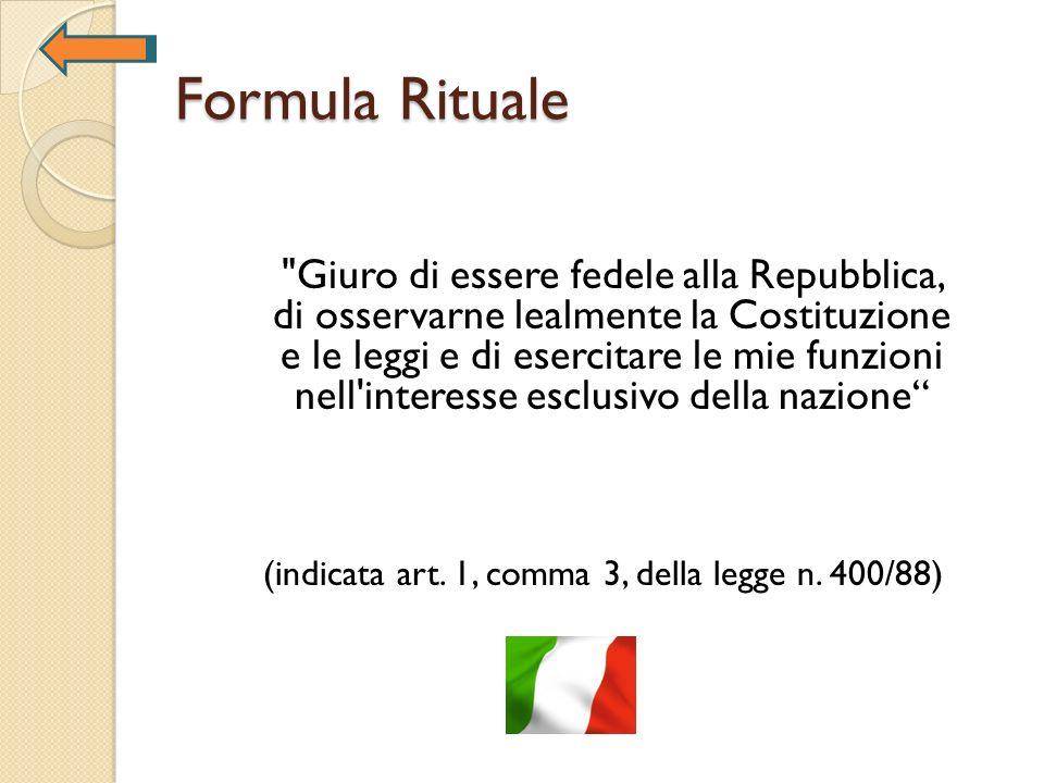 Formula Rituale