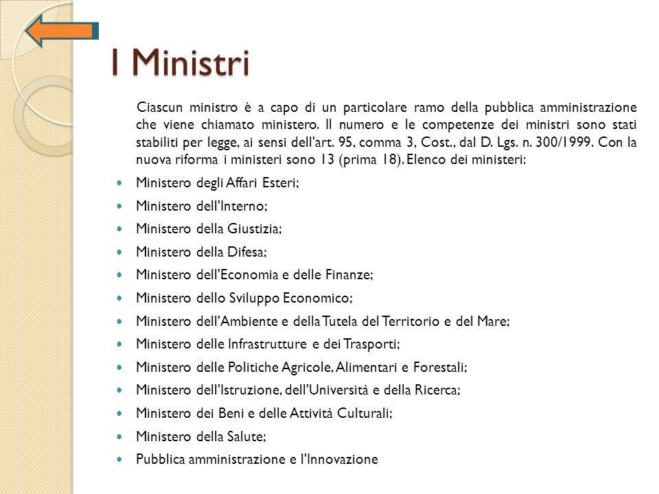 I Ministri