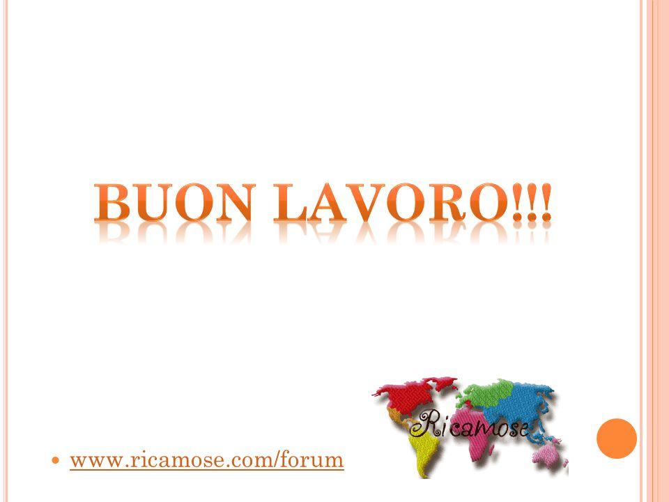 Buon lavoro!!! www.ricamose.com/forum