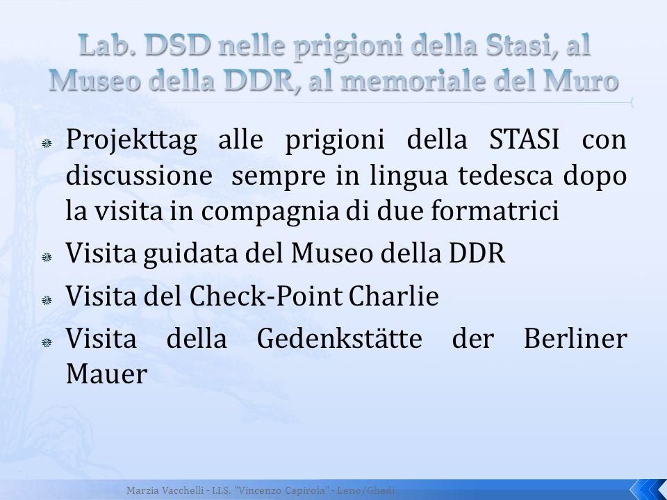 Visita guidata del Museo della DDR Visita del Check-Point Charlie