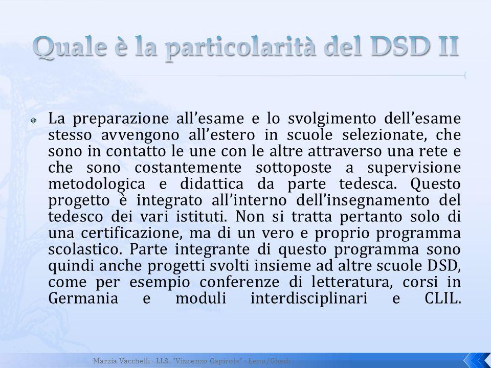 Quale è la particolarità del DSD II