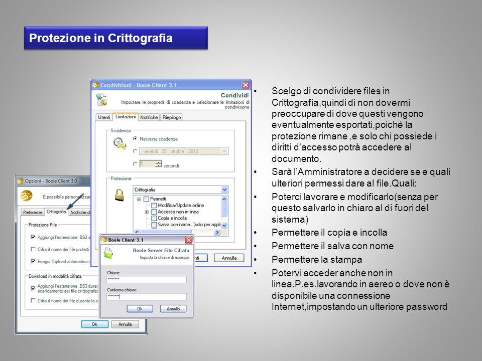 Protezione in Crittografia