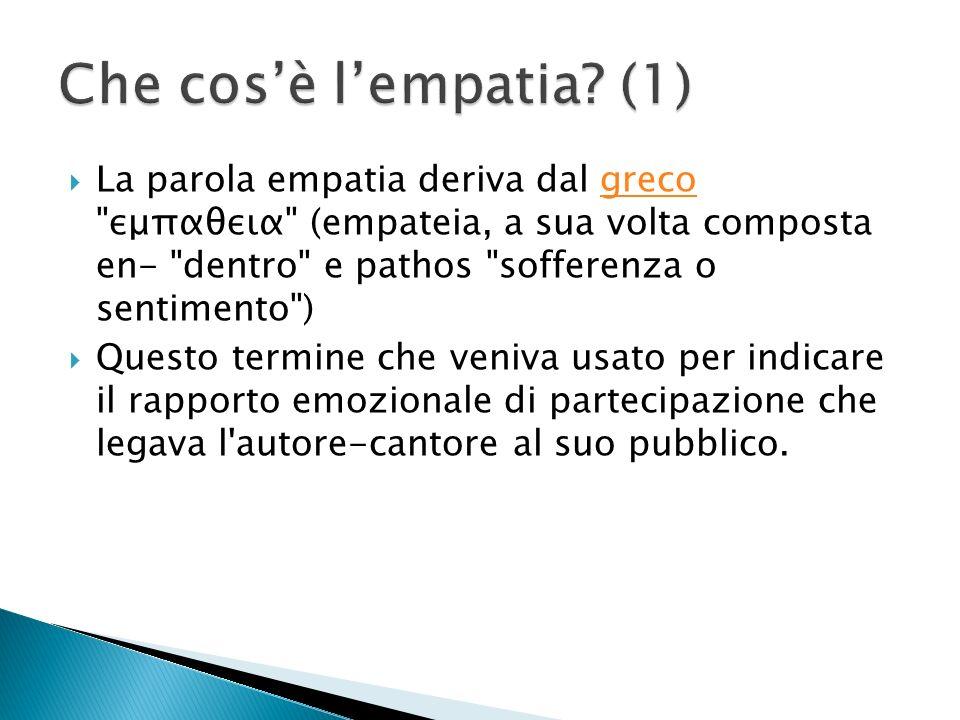 Che cos'è l'empatia (1)
