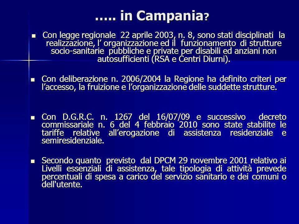 ….. in Campania