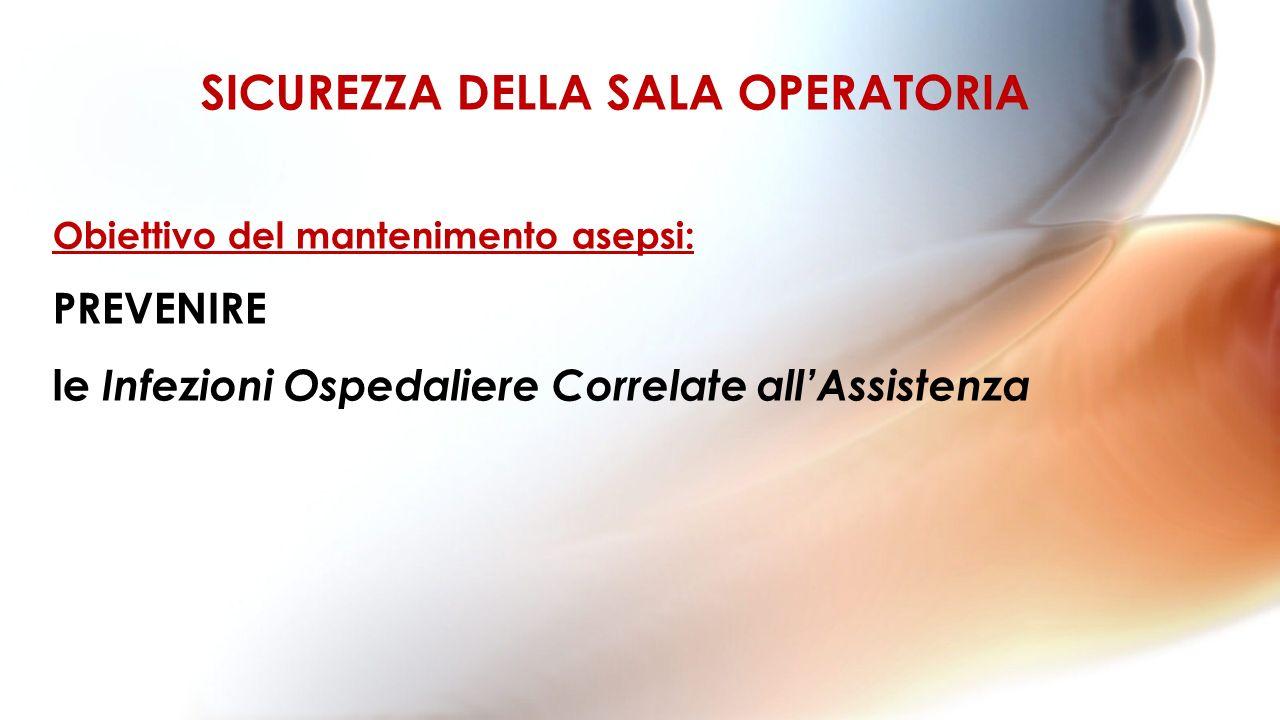 SICUREZZA DELLA SALA OPERATORIA