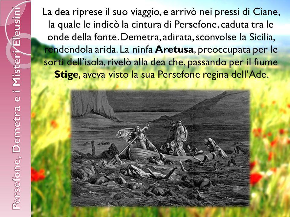 Persefone, Demetra e i Misteri Eleusini