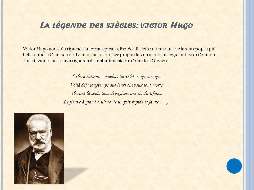 La légende des siècles: victor Hugo
