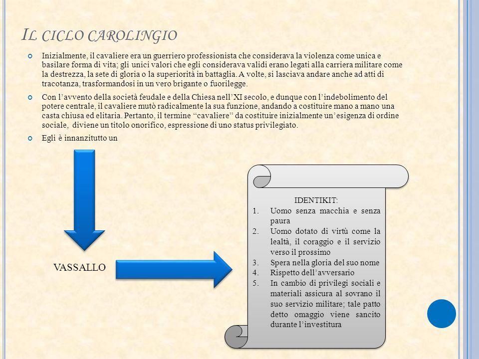 Il ciclo carolingio VASSALLO