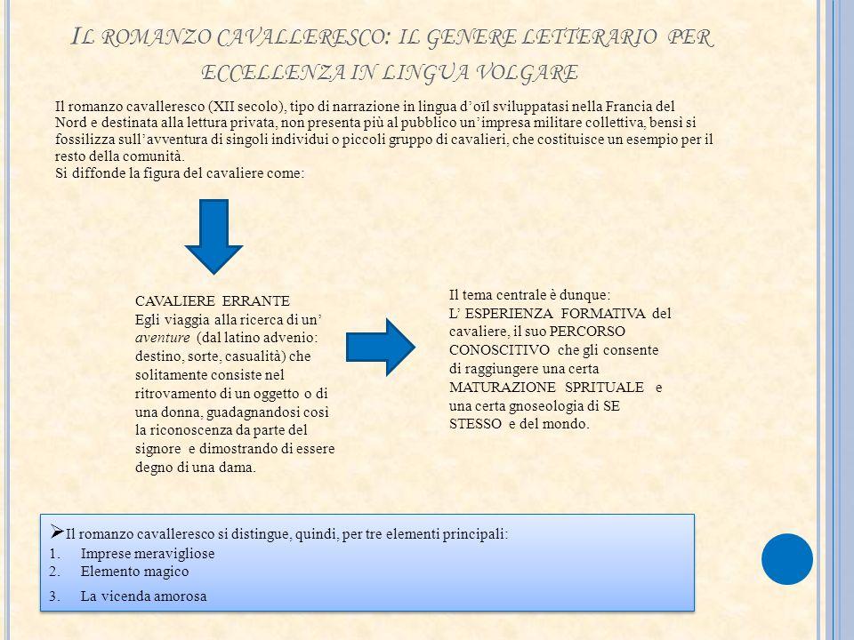 Il romanzo cavalleresco: il genere letterario per eccellenza in lingua volgare