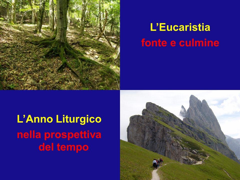 L'Eucaristia fonte e culmine nella prospettiva del tempo