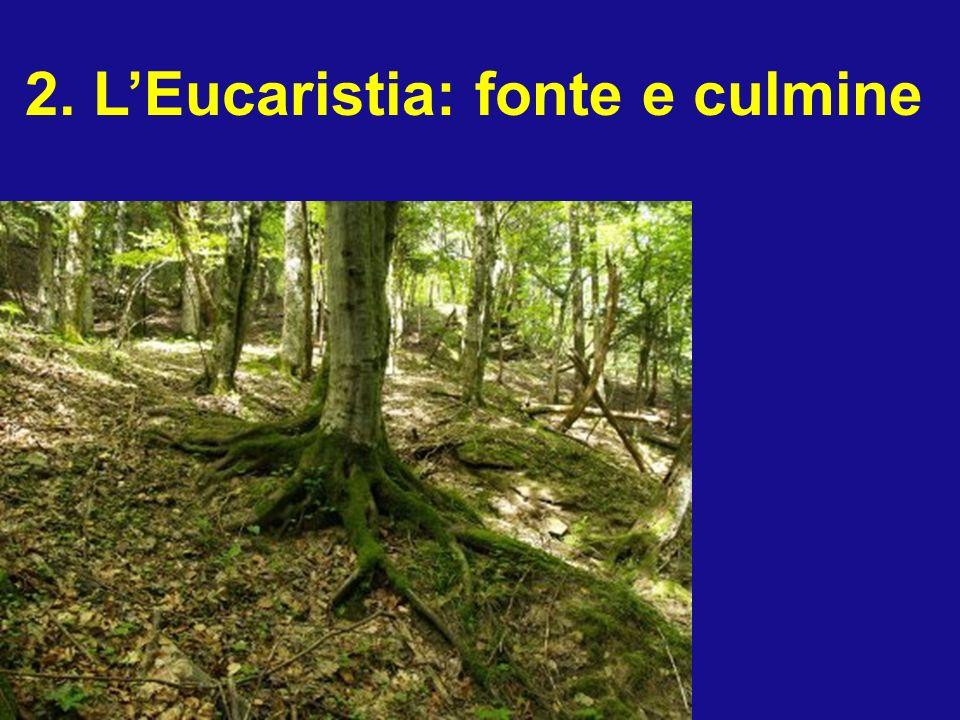 2. L'Eucaristia: fonte e culmine