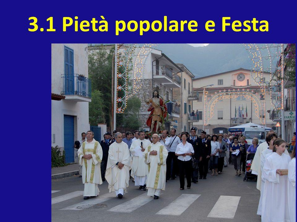 3.1 Pietà popolare e Festa