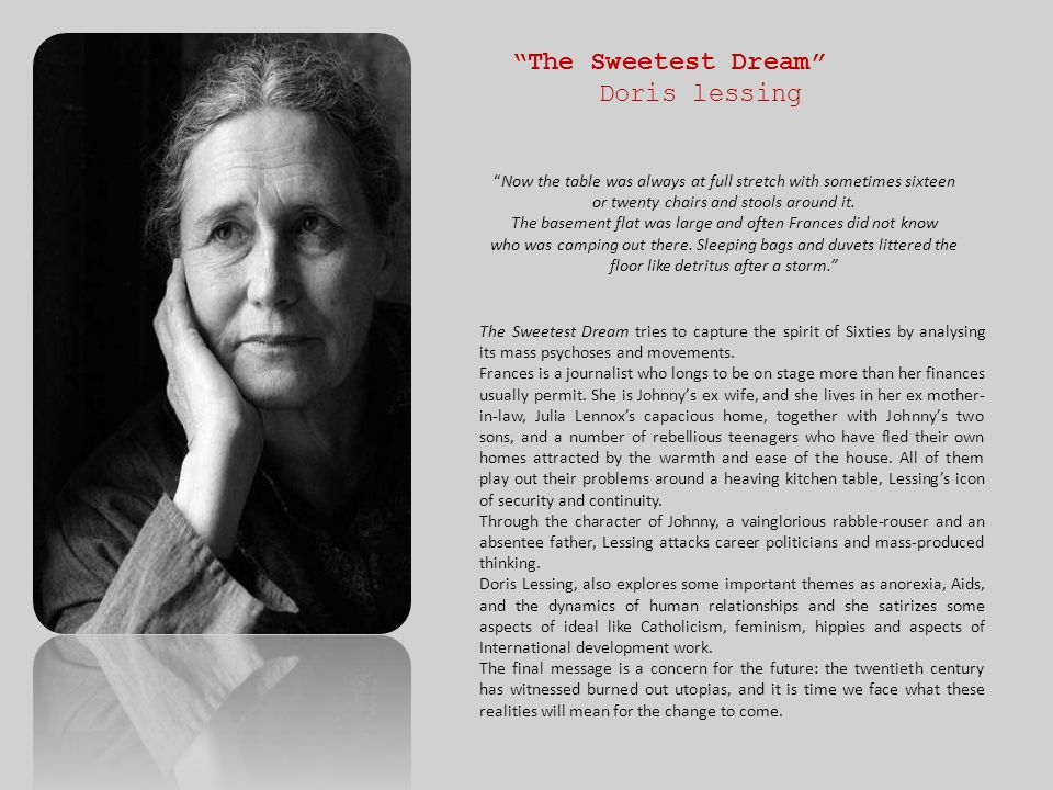 The Sweetest Dream Doris lessing
