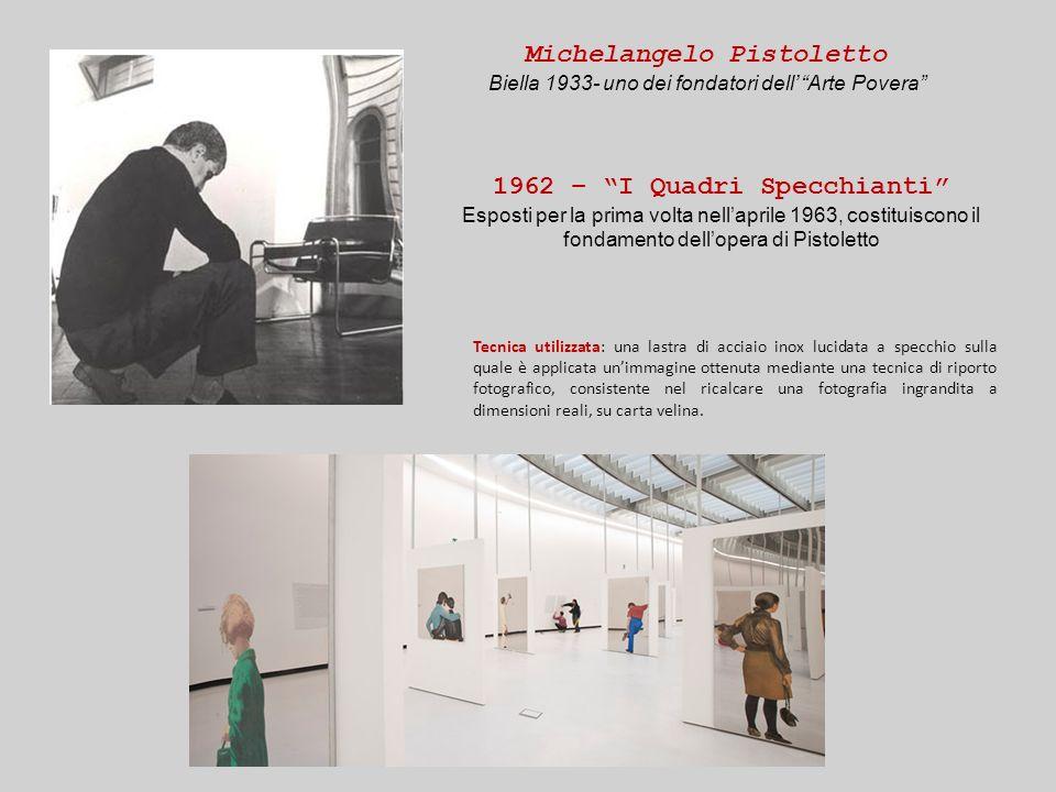 Michelangelo Pistoletto 1962 – I Quadri Specchianti