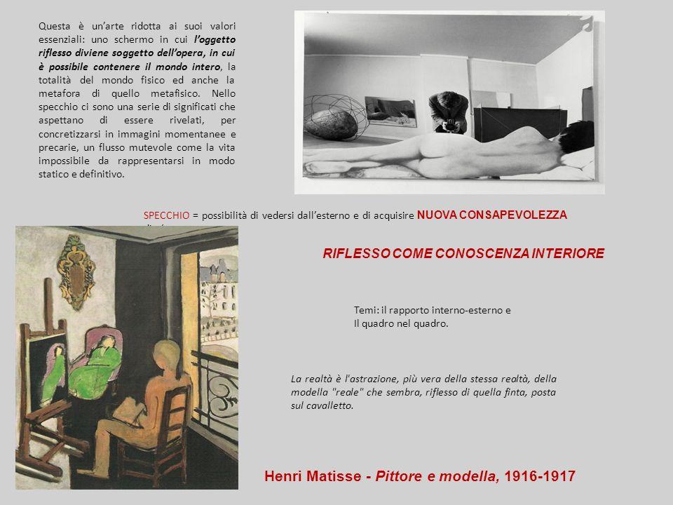 Henri Matisse - Pittore e modella, 1916-1917