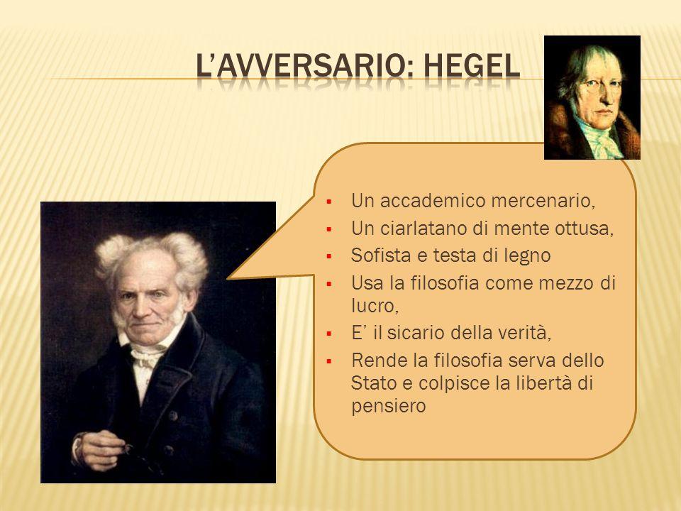 L'avversario: Hegel Un accademico mercenario,