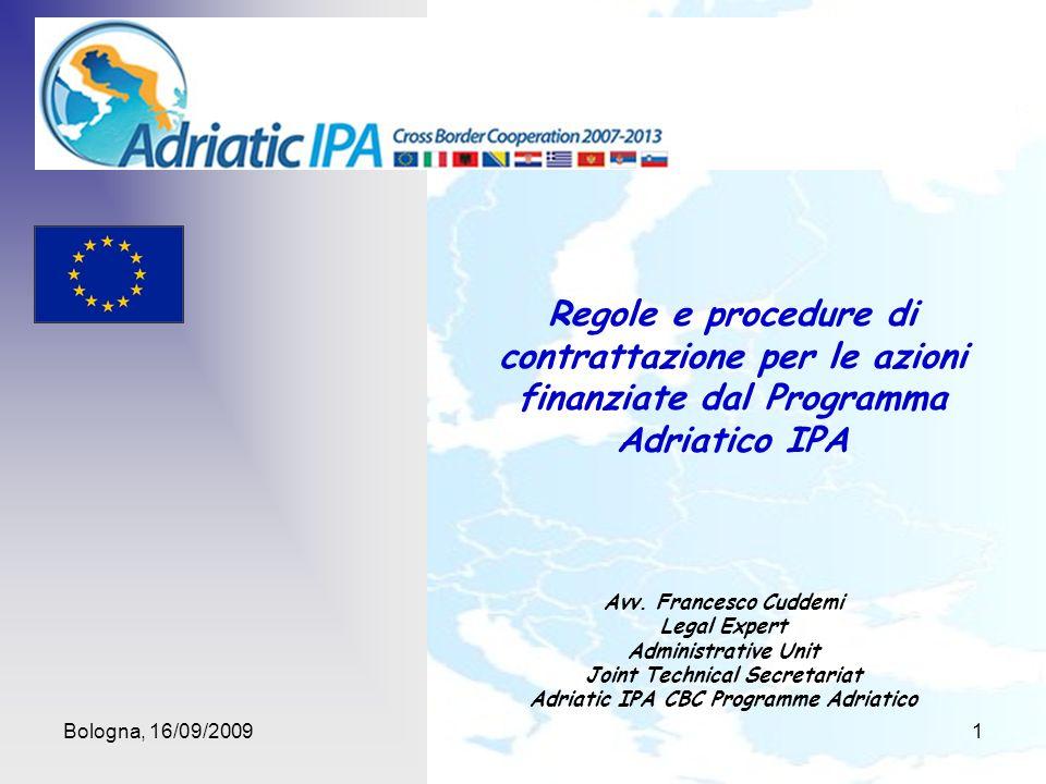 Joint Technical Secretariat Adriatic IPA CBC Programme Adriatico
