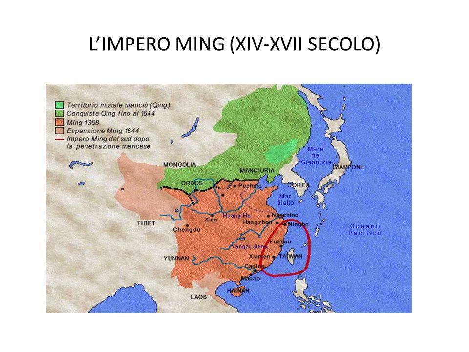 L'IMPERO MING (XIV-XVII SECOLO)