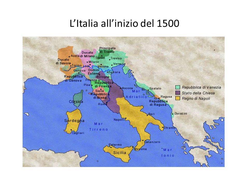 L'Italia all'inizio del 1500